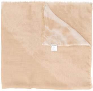 Faliero Sarti frayed-hem scarf