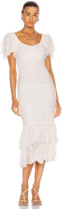 Cinq à Sept Nora Dress in Ivory | FWRD