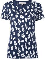 MICHAEL Michael Kors leopard print sequin embellished T-shirt
