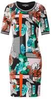 Ana Alcazar Fitted Print Dress