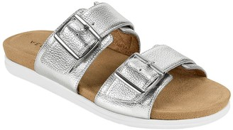 Aerosoles Slip-On Banded Slide Sandals - Hamden