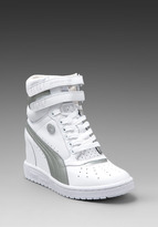 Puma by Mihara MY-66 Sneaker in White/Silver
