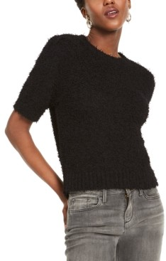 INC International Concepts Inc Short-Sleeve Puff Sweater, Created For Macy's