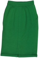 Gianni Versace Green Wool Skirt for Women Vintage