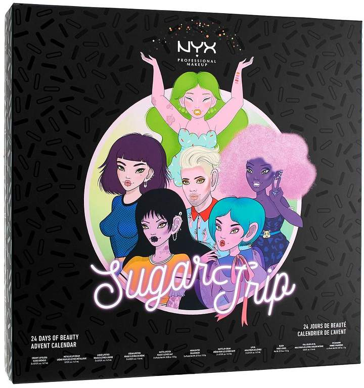 NYX Sugar Trip 24 Days Of Beauty Advent Calendar