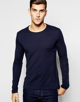 United Colors Of Benetton Long Sleeve Crew Neck T-shirt