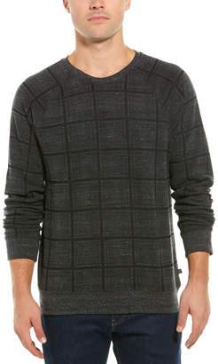 Threads 4 Thought El Paso Plaid Crewneck Sweatshirt