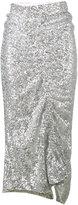 Preen by Thornton Bregazzi asymmetrical sequin skirt - women - Polyester/Spandex/Elastane - S