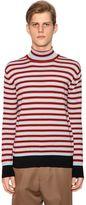 Marni Striped Wool Knit Sweater
