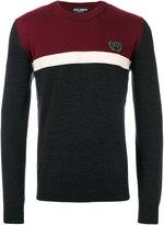 Dolce & Gabbana stripe panel sweater