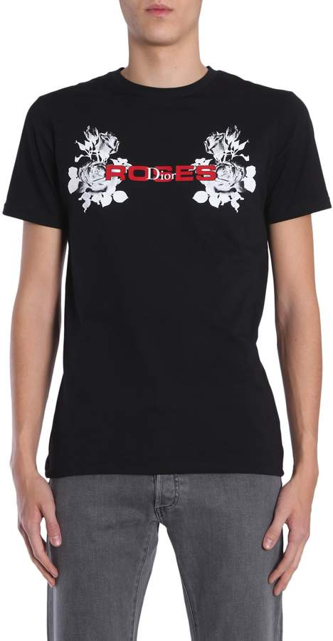Christian Dior Round Collar T-shirt