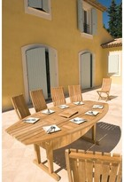 Teak Altaro Extendable Dining Table Les Jardins