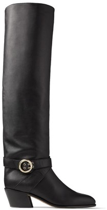 Jimmy Choo Beca 45 Leather Boots
