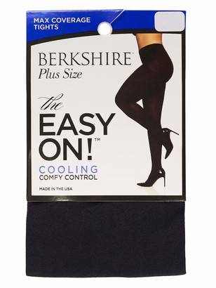 Berkshire Women's Easy On Max Coverage Plus Size Tights