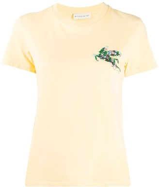 Etro floral embroidered T-shirt