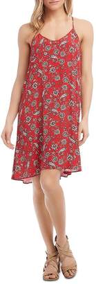 Karen Kane Bandana-Print Racerback Dress