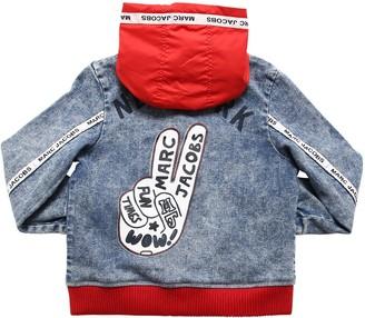 Little Marc Jacobs Denim Bomber Jacket