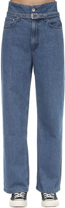 Rag & Bone Paperbag Beggy Cotton Denim Jeans