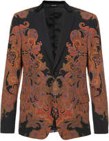 Alexander McQueen patterned suit jacket