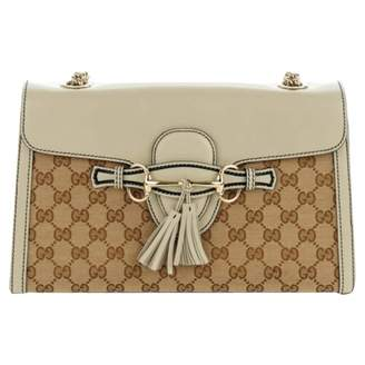 Gucci Emily White Leather Handbags