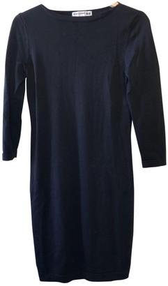 Uniqlo Black Cotton - elasthane Dress for Women