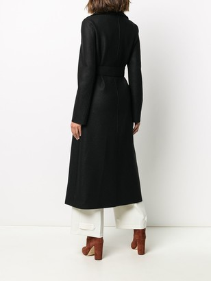 Harris Wharf London Wrap-Around Virgin Wool Coat