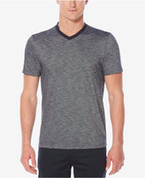 Perry Ellis Men's Classic-Fit Textured V-Neck T-Shirt