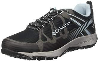 Columbia Women's Conspiracy V Outdry Low Rise Hiking Shoes, Black (Black/Oxygen), (38.5 EU)