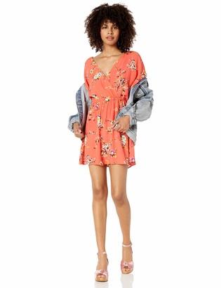 Obey Womens Pinot Dress Casual Dress