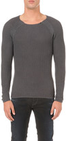 Replay Enzyme wash cotton jumper