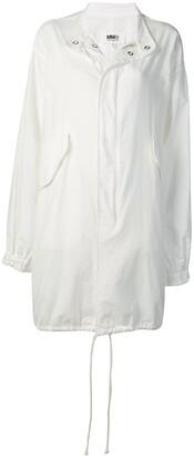 MM6 MAISON MARGIELA Hooded Trench Coat