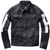 G Star Men's 3301 3D Denim Jacket with Painted