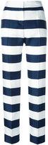 Dolce & Gabbana wide-striped trousers - women - Silk - 40