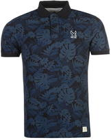 Soul Cal SoulCal Deluxe Floral Polo Shirt