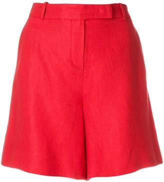 Loro Piana Front Zip Flat Front Shorts