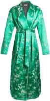 ATTICO Giacca Oriental satin-jacquard kimono dress