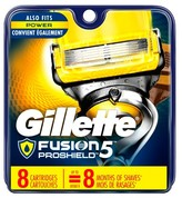 Gillette Fusion® ProShield Men's Razor Blade Refills 8 ct