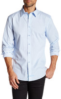 English Laundry Long Sleeve Woven Printed Shirt