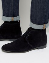 HUGO BOSS HUGO by Paris Short Suede Boots