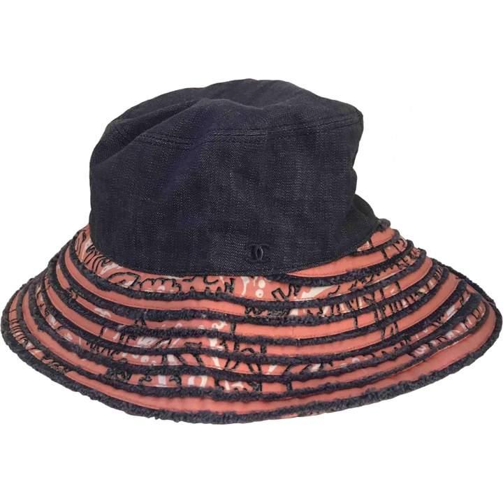 f57ed6b6 Chanel Blue Women's Hats - ShopStyle
