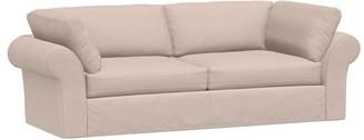 Pottery Barn PB Air Roll Arm Slipcovered Sofa