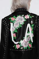 Nasty Gal x Jaydee Tina Vegan Leather Moto Jacket
