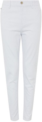 Monsoon Iris Skinny Organic Cotton Denim Jean - White