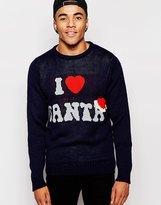 D-struct Christmas Jumper I Love Santa