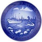 Royal Copenhagen 1901113 Christmas Plate, Copenhagen Harbour