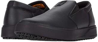 Caterpillar ProRush SR+ Slip-On (Black Action Leather) Men's Shoes
