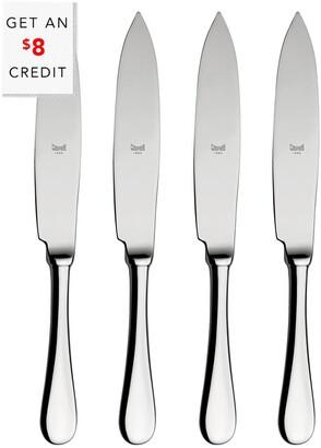 Mepra Set Of 4 American Steak Knives