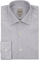 Hardy Amies Blue Double Stripe Shirt
