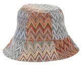 BCBGMAXAZRIA Knitted Reversible Bucket Hat