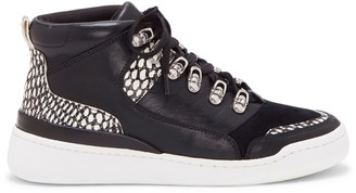 Vince Camuto Samphy Mixed-material High-top Sneaker